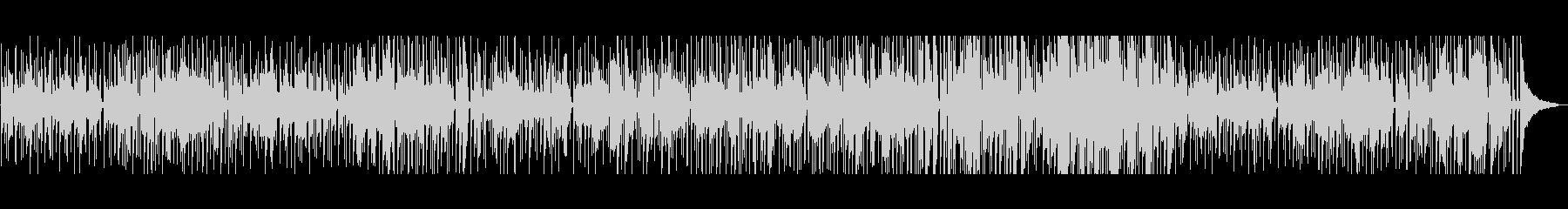 コミカルでのほほん クラリネットとピアノの未再生の波形