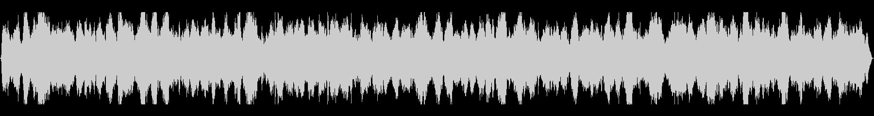 海・波音・カモメの鳴き声入りヒーリングの未再生の波形