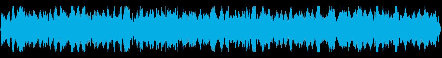 海・波音・カモメの鳴き声入りヒーリングの再生済みの波形