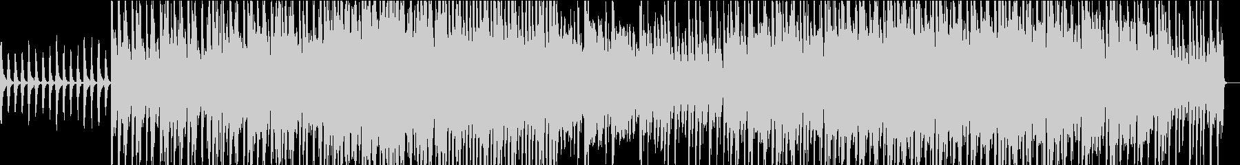 ストリングスが印象的でメロディアスな曲の未再生の波形