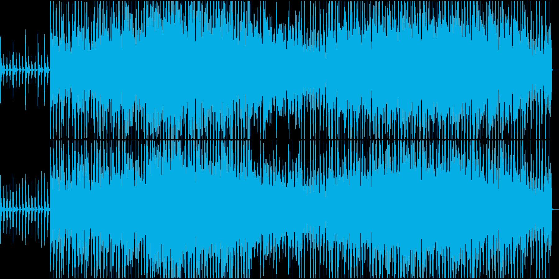 ストリングスが印象的でメロディアスな曲の再生済みの波形
