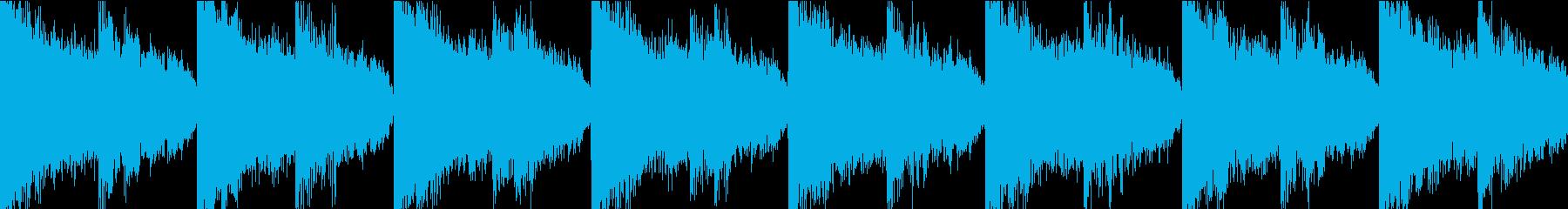 サイレン 緊急 防災 アラーム 警報 3の再生済みの波形