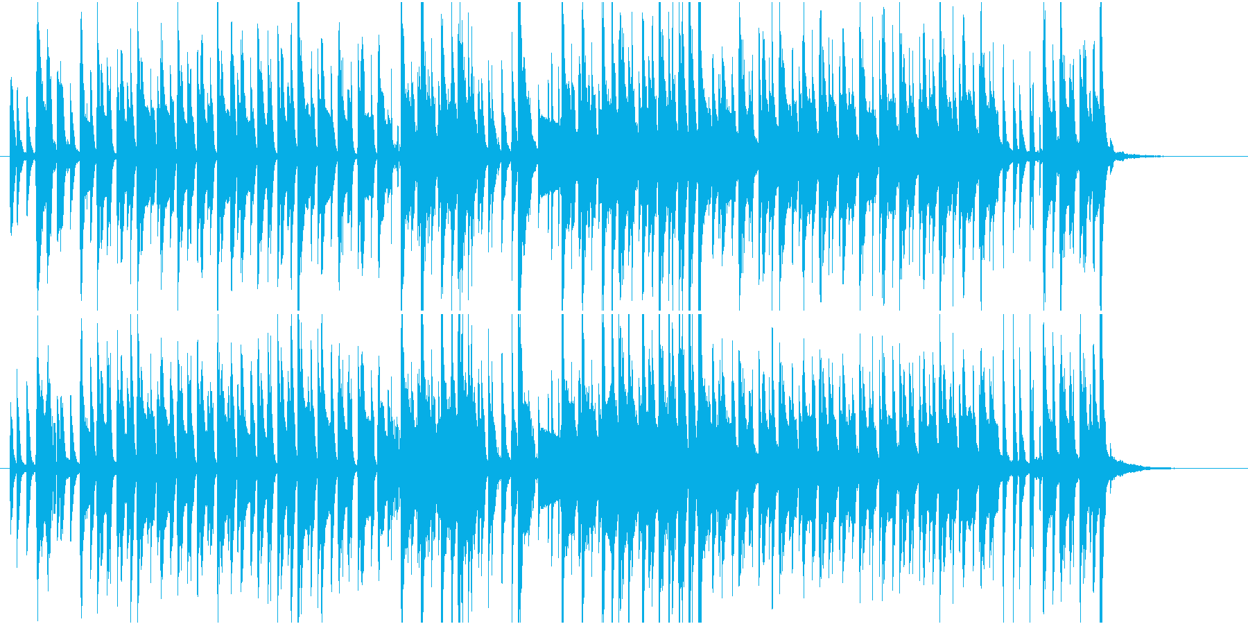 ポップなジャズの再生済みの波形
