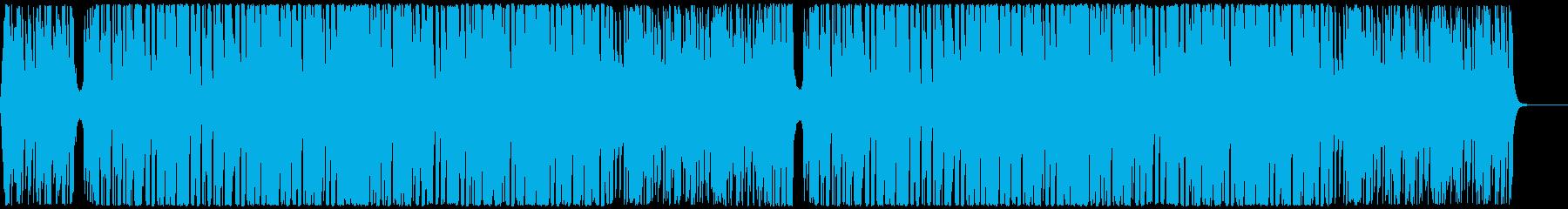 爽快でハッピーなEDMハウス CM・映像の再生済みの波形