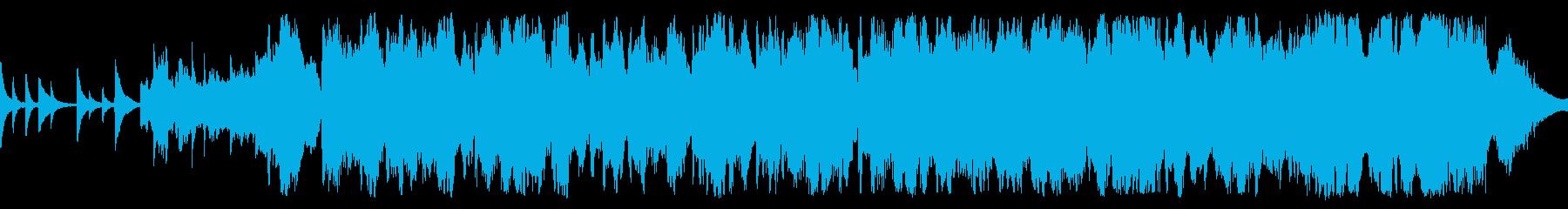 センチメンタルな秋のバラード ループ仕様の再生済みの波形
