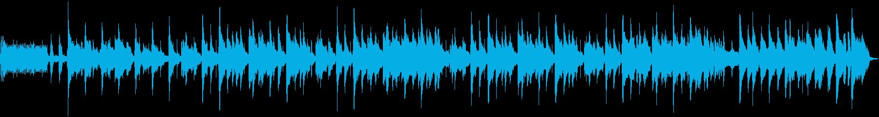 楽しくクールなレトロなジャズトラッ...の再生済みの波形
