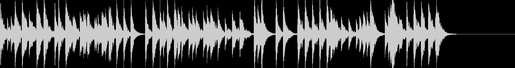 「スカボローフェア」オルゴールbpm76の未再生の波形