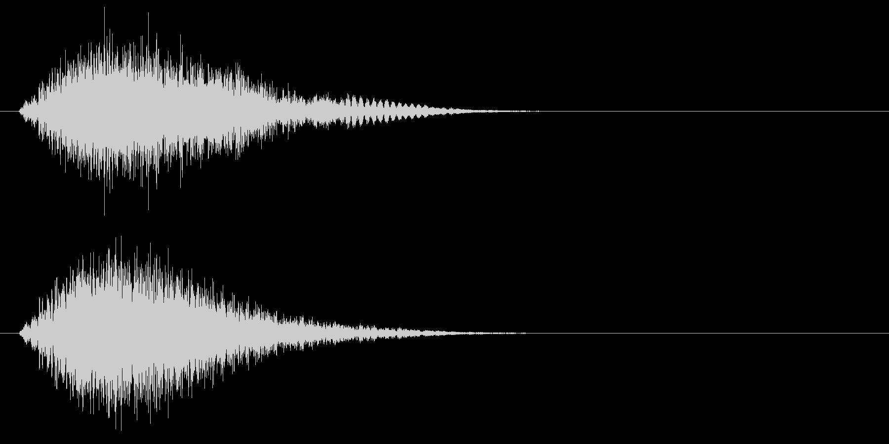 静的なロゴ高周波電子パルスの未再生の波形