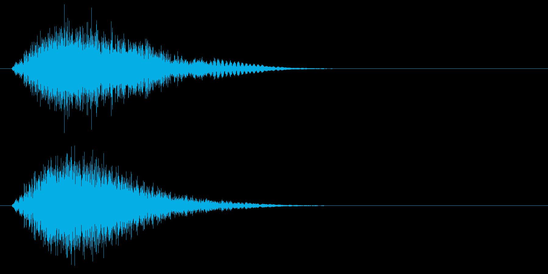 静的なロゴ高周波電子パルスの再生済みの波形
