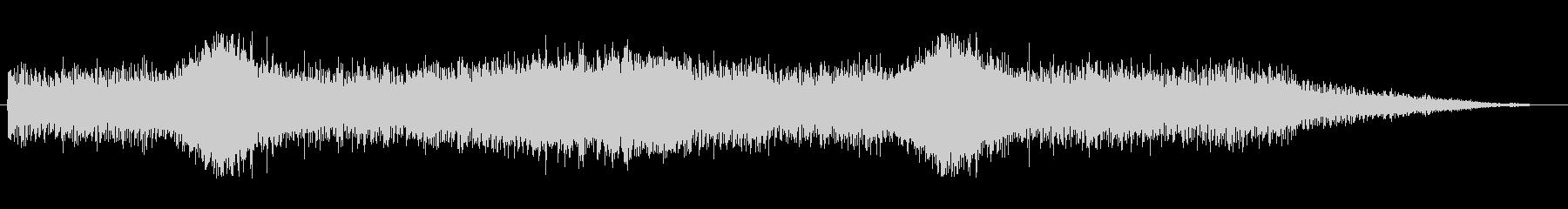 テクスチャ壁FXの未再生の波形