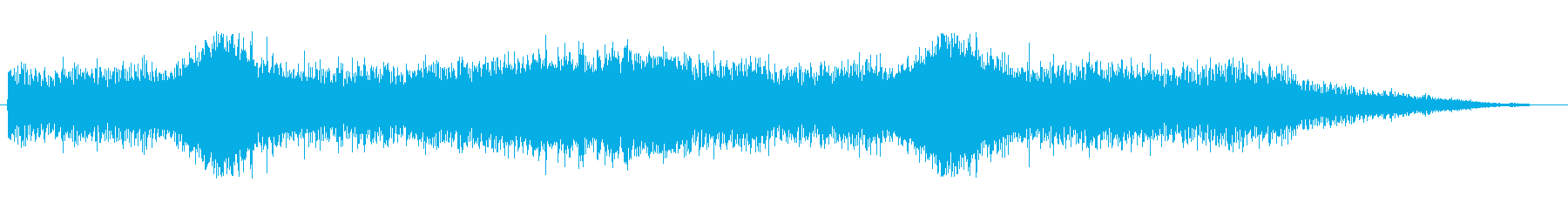 テクスチャ壁FXの再生済みの波形