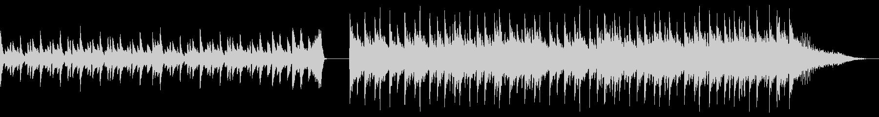 90s劇伴風BGMの未再生の波形