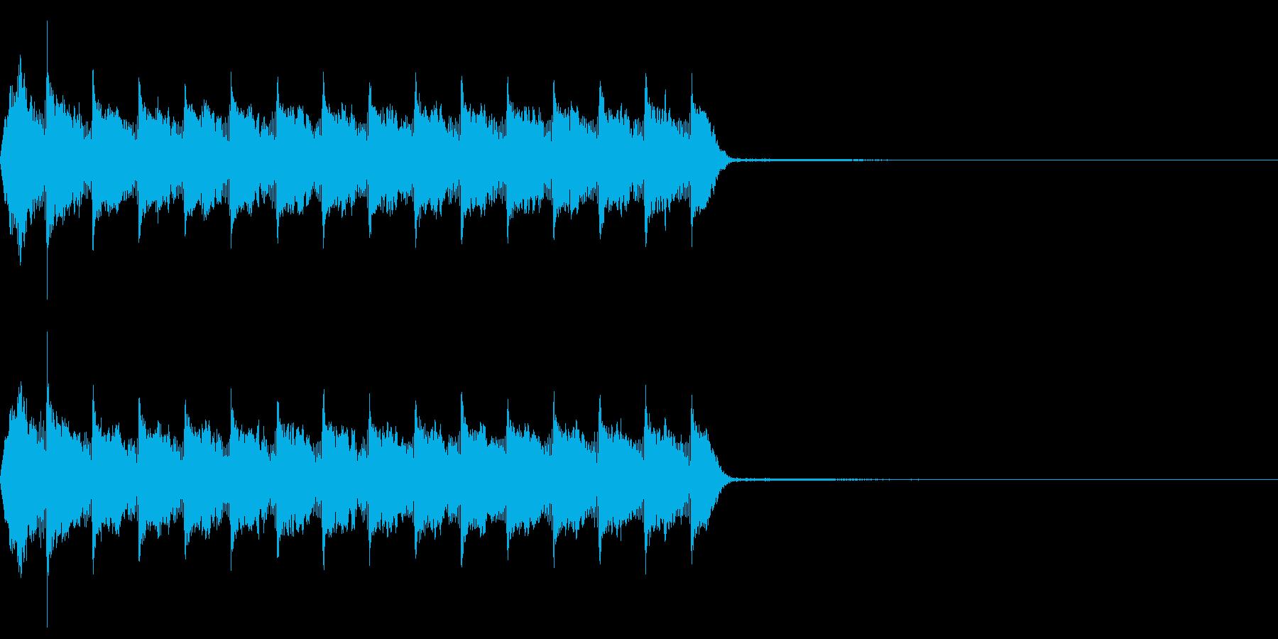 Razor レイザー小銃の連射音 2の再生済みの波形