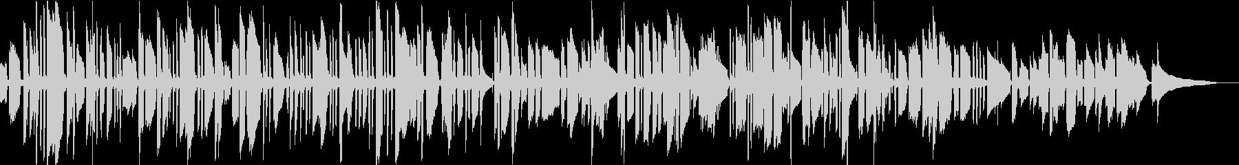 アイルランド民謡をソロギターでの未再生の波形