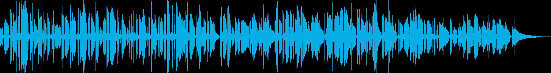 アイルランド民謡をソロギターでの再生済みの波形