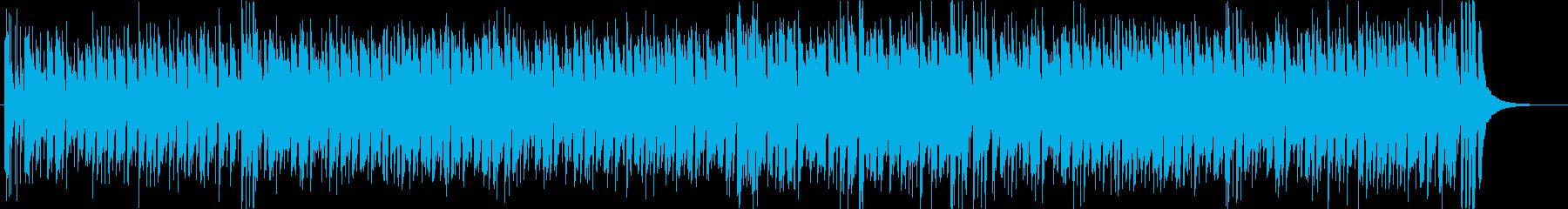 スカバンド風の海を連想する陽気な曲の再生済みの波形