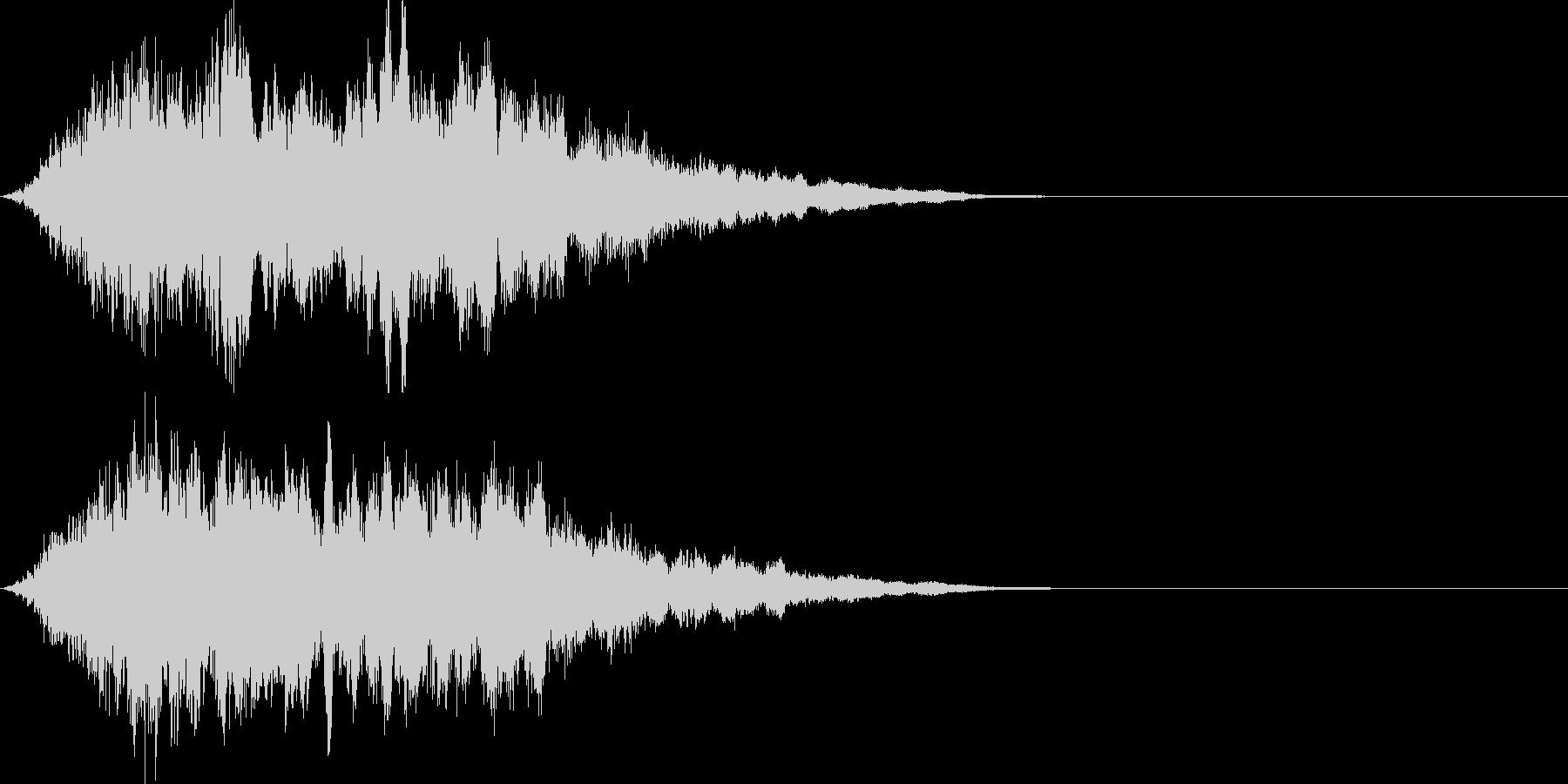 魔法08(防御・光・発動・飛ばす系)の未再生の波形