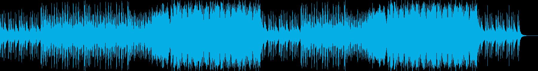 和風・爽やかなFuture Bassの再生済みの波形