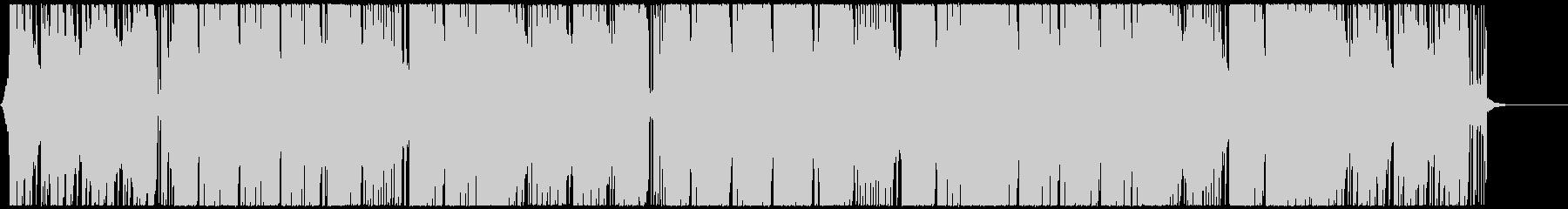キラキラとして明るくポップなエレクトロの未再生の波形