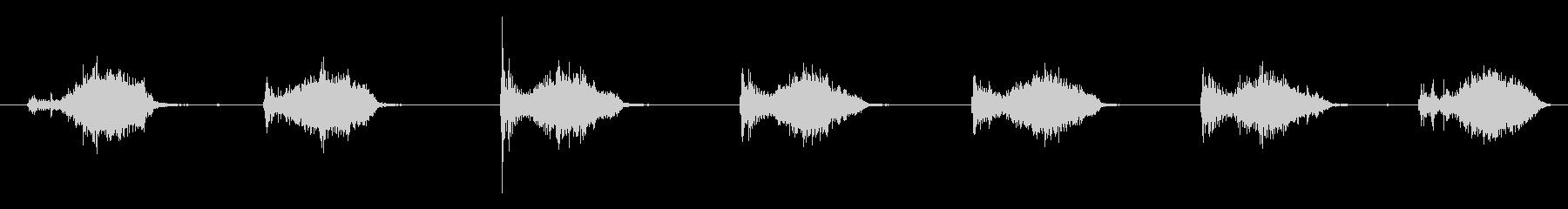 ハードワイヤーブラシ:中程度のスト...の未再生の波形