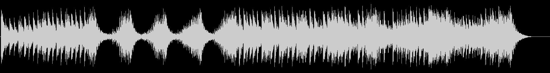 力強い大太鼓のみの和太鼓曲の未再生の波形