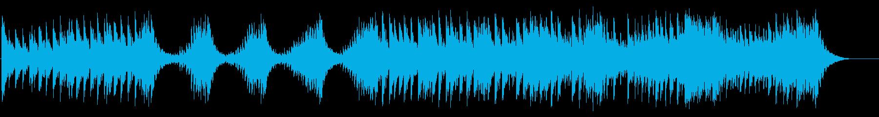 力強い大太鼓のみの和太鼓曲の再生済みの波形