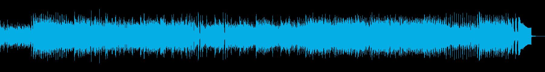 疾走感のあるアコースティックポップスの再生済みの波形
