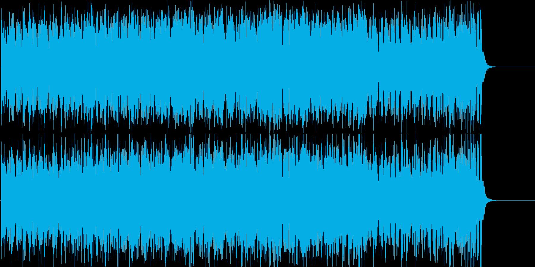 オープニング 軽快 若さ 前進 はつらつの再生済みの波形