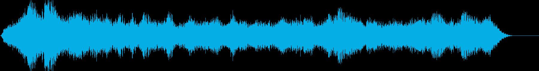 ドローン エジプト高02の再生済みの波形