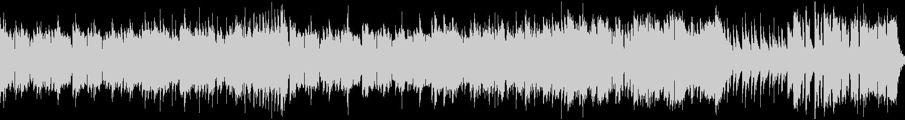 ほのぼのとした中世トラッド・ループの未再生の波形