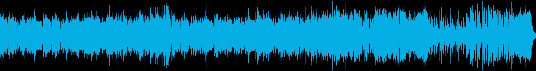 ほのぼのとした中世トラッド・ループの再生済みの波形
