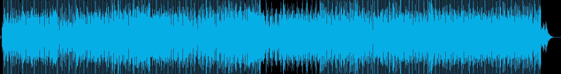 アップビートのジャズハウスダンスチ...の再生済みの波形