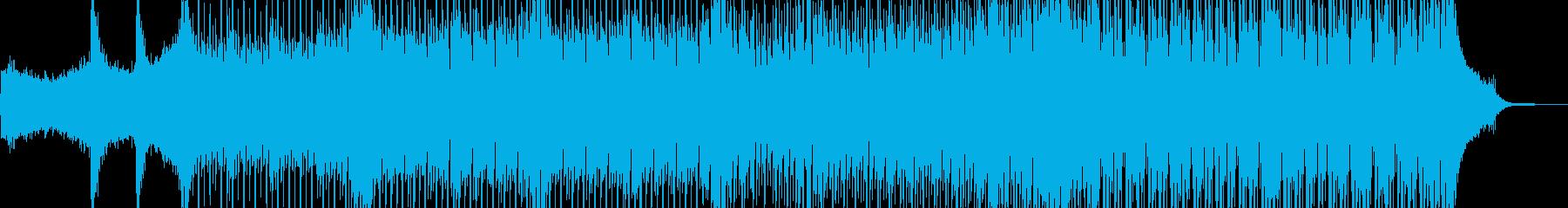 近未来を思い描いたテクノポップ Dの再生済みの波形