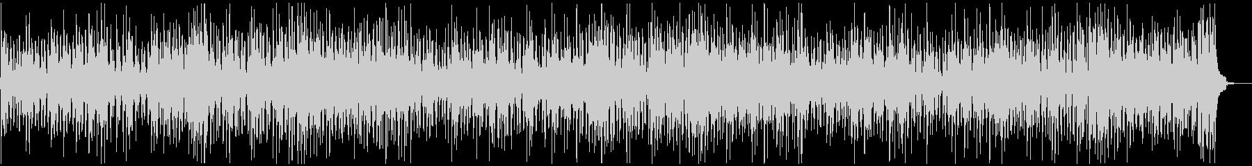 ウクレレが軽快なBGMの未再生の波形