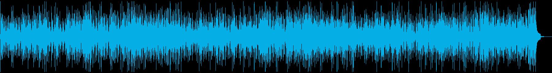 ウクレレが軽快なBGMの再生済みの波形