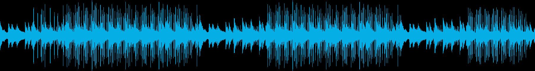センチメンタル・ローファイ・感動・ピアノの再生済みの波形