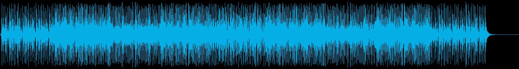 三味線のアップテンポでクールなシーン向けの再生済みの波形