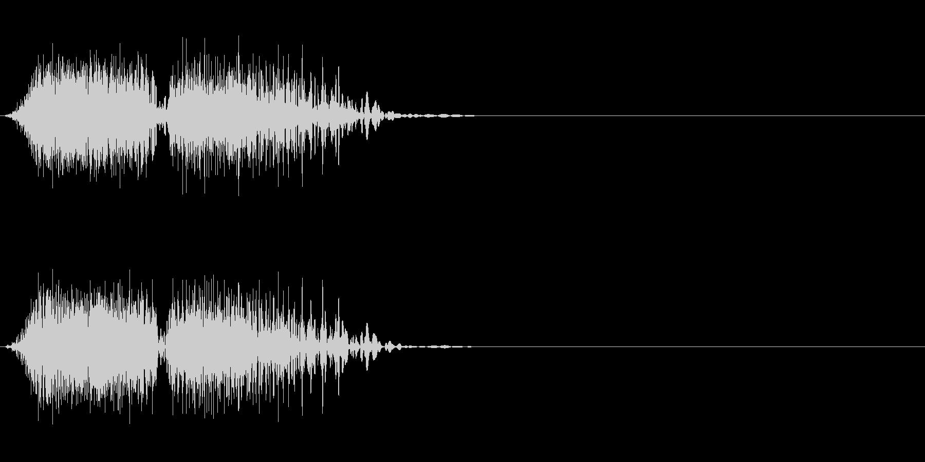 DJスクラッチ06_ワンショット01の未再生の波形