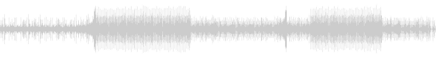 サスペンス調の疑念系BGMの未再生の波形