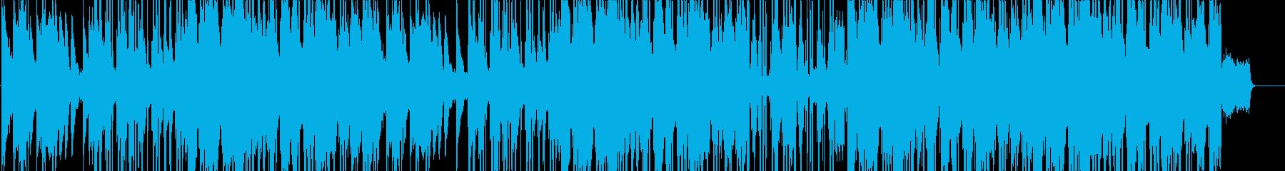 カフェに合うLO-FI HIPHOPの再生済みの波形