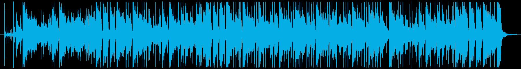 アダルトでちょい切ないジャズフュージョンの再生済みの波形