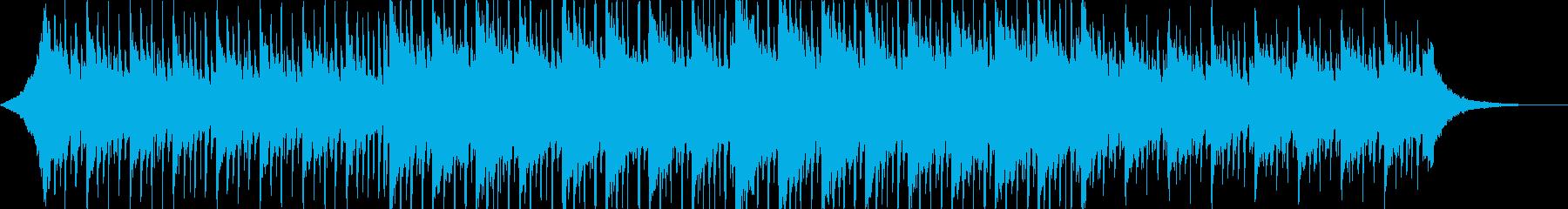 企業VP、会社紹介、爽やか、ITの再生済みの波形