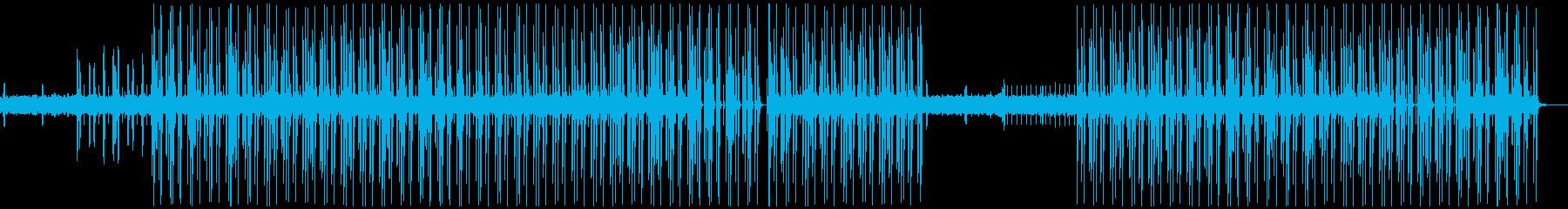 90年代テクノポップBGMの再生済みの波形