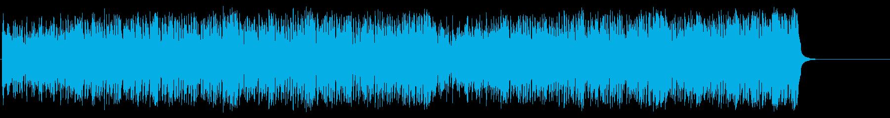 ドタバダ喜劇調のGS風ポップ/マイナーの再生済みの波形