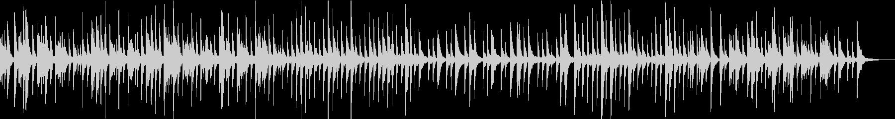 洋楽ピアノ 感動 切ない映像 チルアウトの未再生の波形