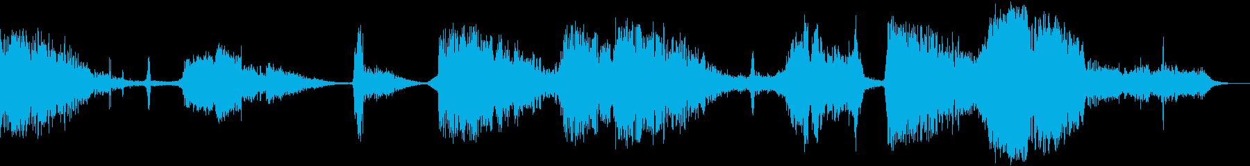 【ホラー】 【映画】 タイトルロゴ_02の再生済みの波形