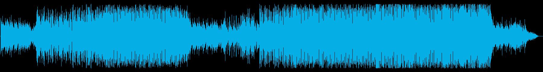 洋楽感ある王道のトロピカルハウスの再生済みの波形