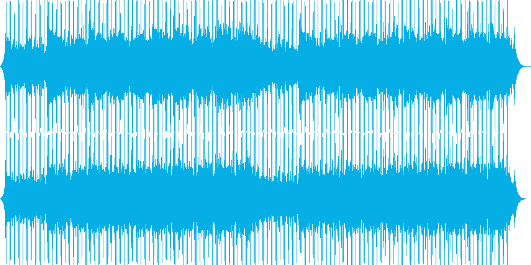 Corporate VP, company introduction, refreshing, transparent's reproduced waveform