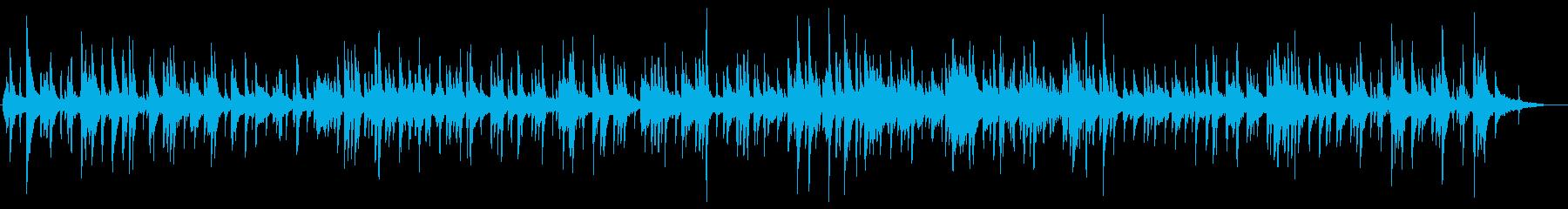 ストリングス入りのジャズ風バラードの再生済みの波形
