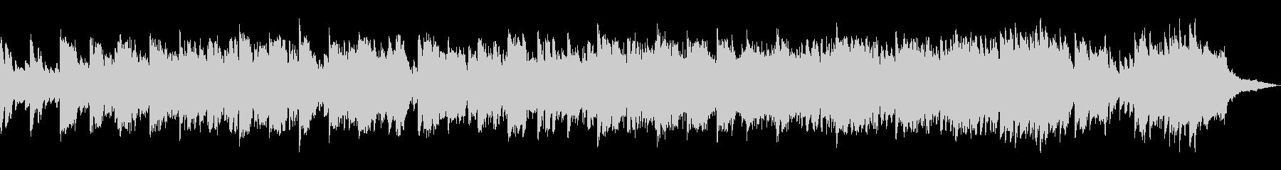 ノスタルジックなピアノ&ストリングスの未再生の波形